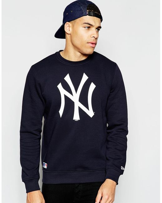 KTZ | New York Yankees Sweatshirt - Blue for Men | Lyst
