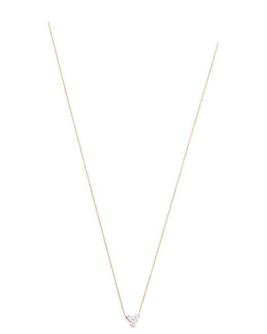 Adina Reyter | Metallic Diamond Cluster Necklace | Lyst