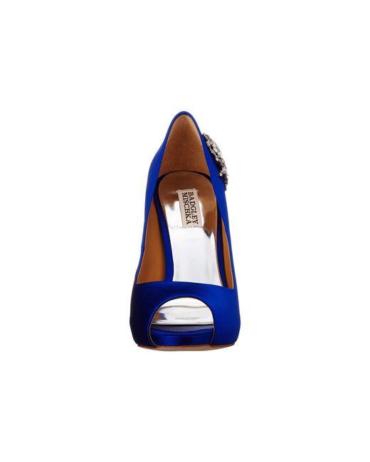 Badgley Mischka | Blue Royal | Lyst
