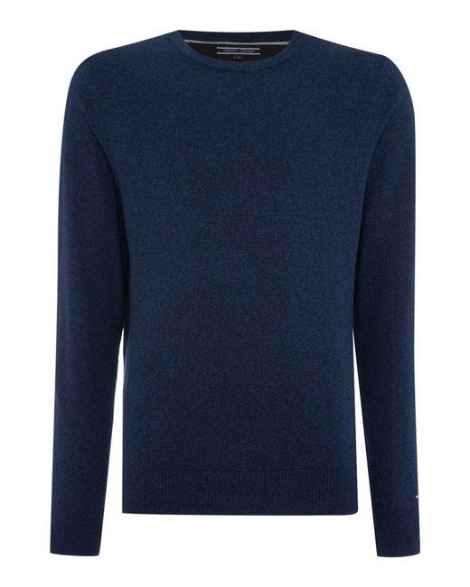 Tommy Hilfiger | Blue Winter Slub Cashmere Top for Men | Lyst