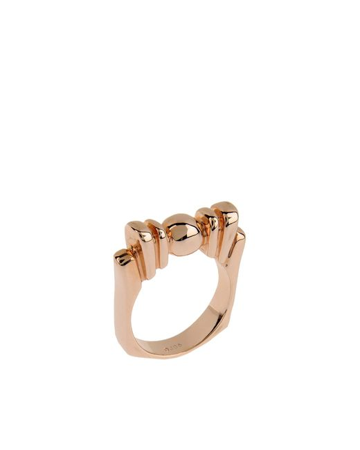 Dominic Jones | Metallic Ring | Lyst