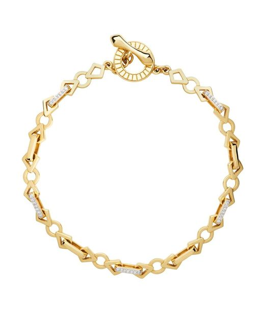 Links of London | Metallic Timeless Gold Bracelet | Lyst