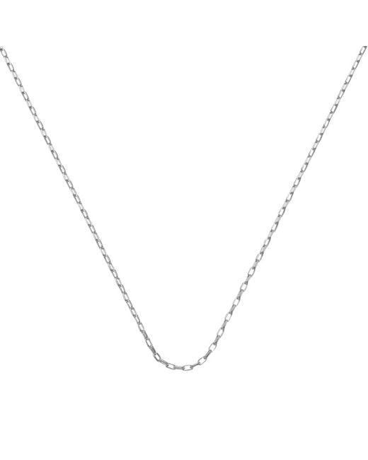 "Monica Vinader | Metallic Fine Open Link Chain 30""/76cm | Lyst"