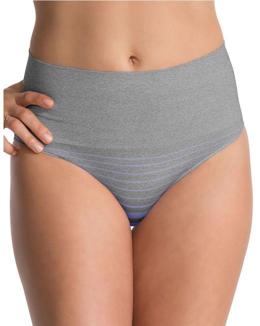 Spanx | Gray Mid Thigh Short | Lyst
