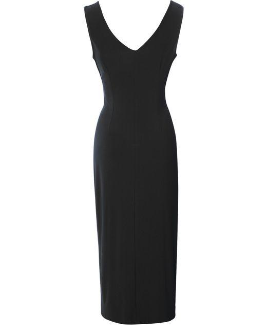 True Decadence | Black Cut Out Midi Dress | Lyst