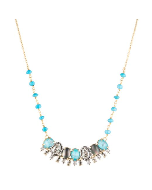 Alexis Bittar | Blue Spiked Crystal Row Pendant Necklace You Might Also Like | Lyst