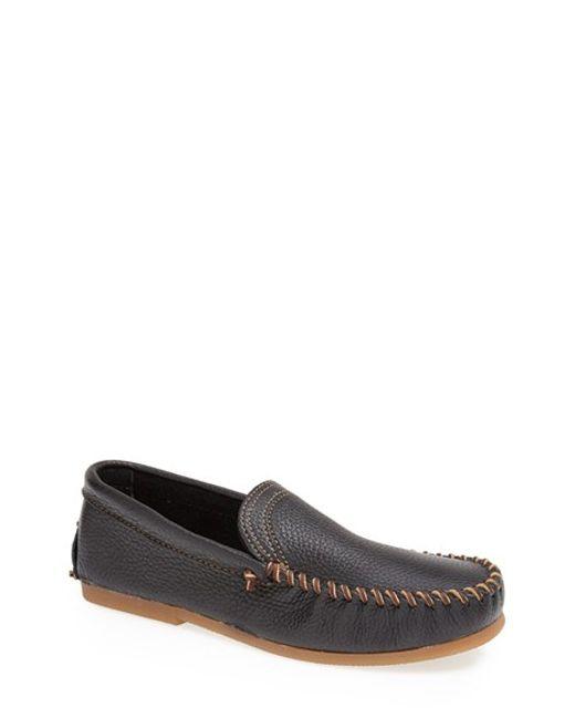 Minnetonka   Black Venetian Loafer for Men   Lyst