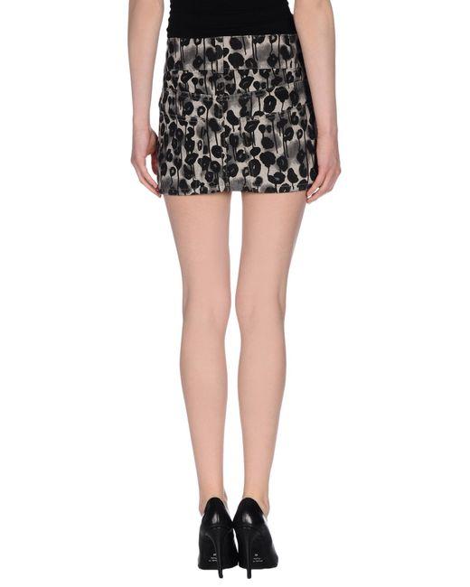 cheap monday denim skirt in black lyst