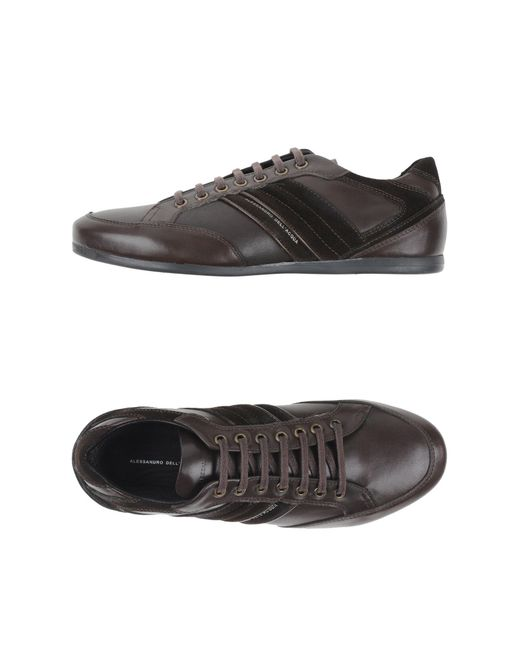 Alessandro Dell'acqua | Brown Lace-up Shoes for Men | Lyst