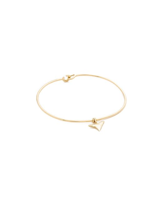 Aurelie Bidermann | Metallic Shark Tooth Bracelet | Lyst