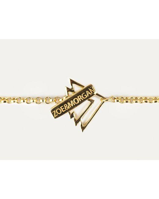 Zoe & Morgan | Metallic Gold Dreaming Necklace | Lyst