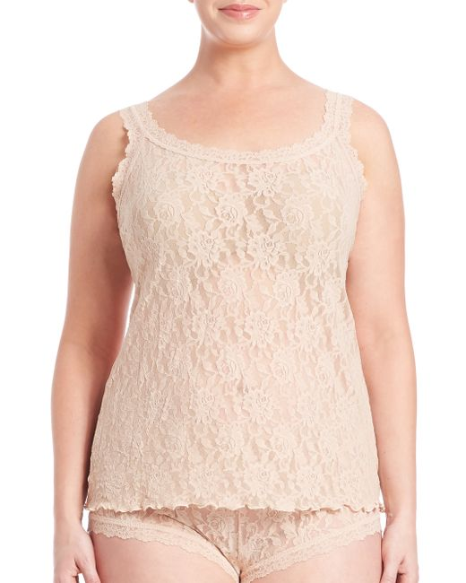 Hanky Panky | Pink Plus Size Signature Lace Camisole | Lyst