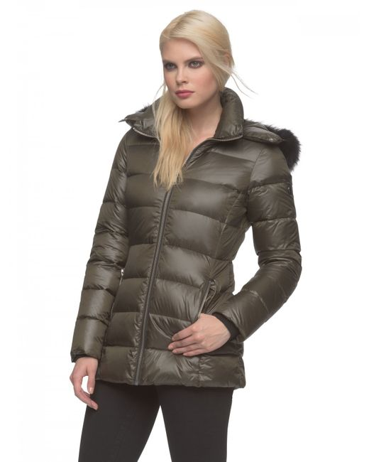 Andrew Marc | Green Britt Water-Resistant Quilted Jacket  | Lyst