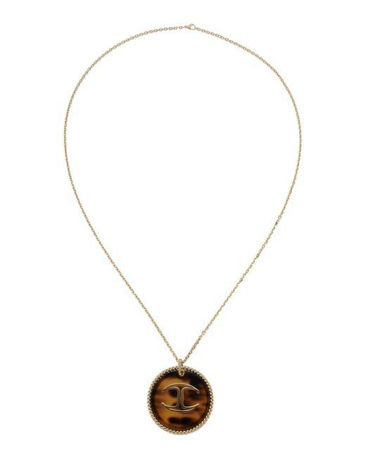 Just Cavalli | Metallic Necklace | Lyst