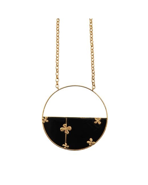 Aurelie Bidermann | Metallic Bianca Onyx Necklace | Lyst
