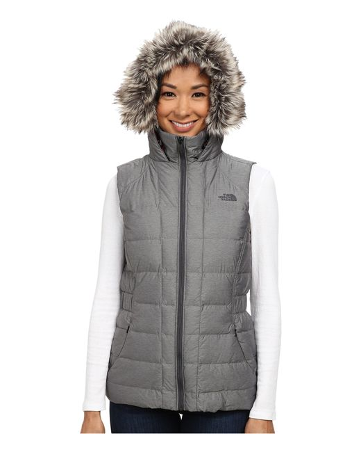 The North Face | Gray Gotham Vest | Lyst