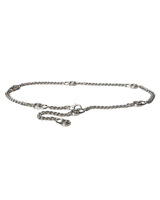 MICHAEL Michael Kors | Metallic Hamilton Lock Chain Link Belt | Lyst