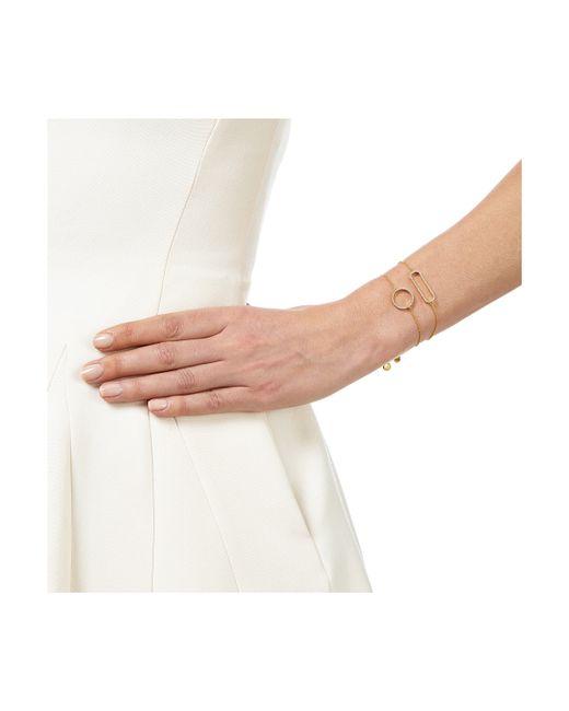 Monica Vinader   Metallic Naida Circle Open Bracelet   Lyst
