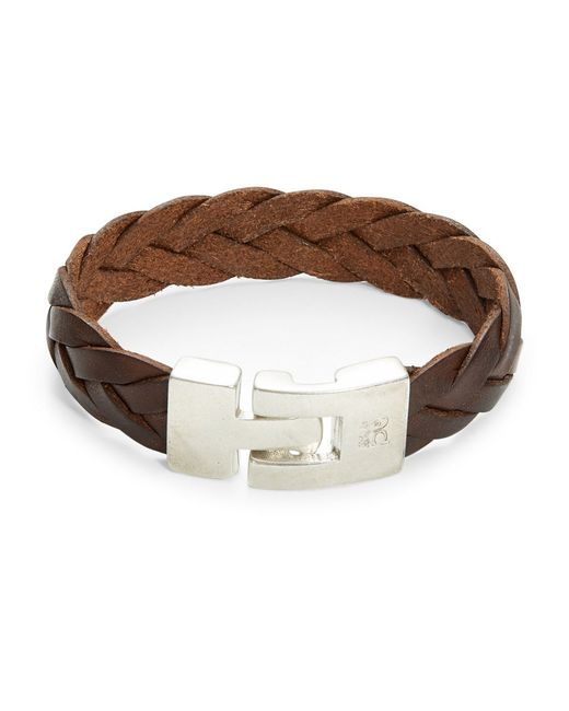 Uno De 50 | Mess Up Brown Leather Bracelet | Lyst