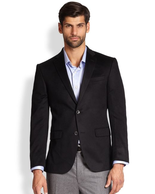 Saks Fifth Avenue | Black Cashmere Blazer for Men | Lyst