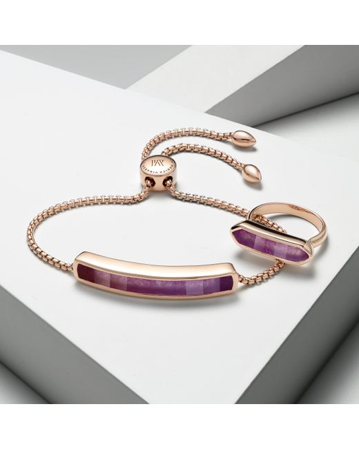 Monica Vinader | Purple Baja Bracelet | Lyst