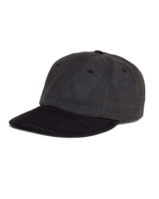 Brooks Brothers | Black Waxed Canvas Baseball Hat for Men | Lyst
