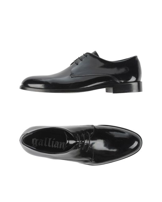 John Galliano | Black Lace-up Shoes for Men | Lyst
