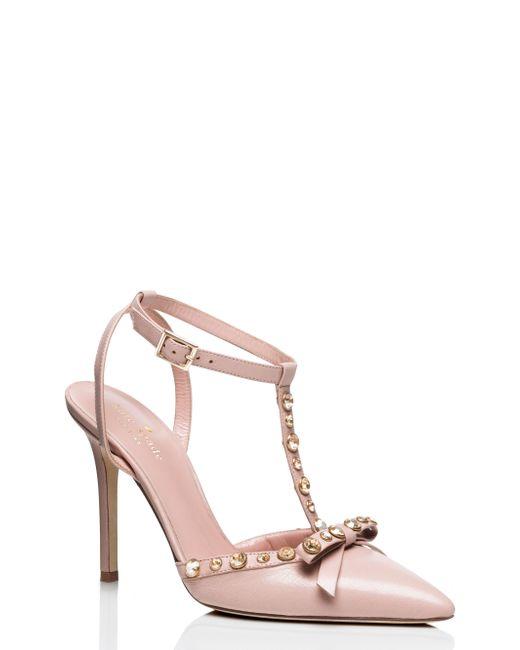 Kate Spade | Pink Lydia Heels | Lyst