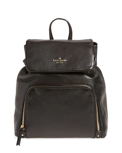 kate spade new york | Black 'cobble Hill - Charley' Backpack | Lyst