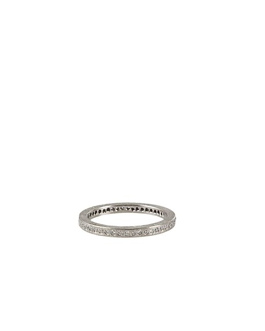 Todd Reed   Metallic Palladium White Diamond Eternity Ring for Men   Lyst