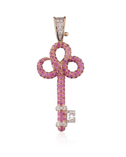 Theo Fennell | Purple Snake Key Pendant | Lyst