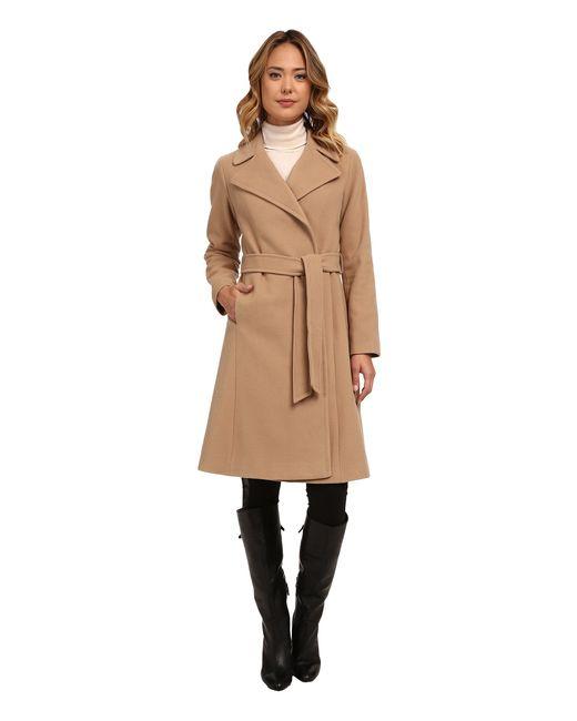 Lauren by Ralph Lauren | Natural Cashmere Blend Blanket Wrap | Lyst