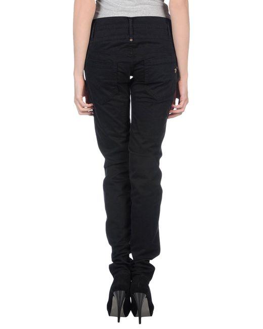 Dondup   Black Denim Pants   Lyst