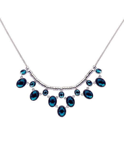 Monet | Metallic Silver Montana Teardrop Y Necklace | Lyst