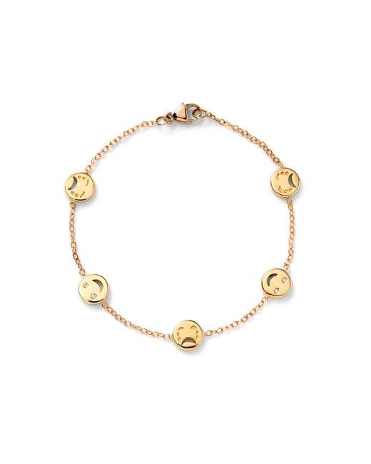 Alison Lou | Metallic Happy  Sad Bracelet | Lyst