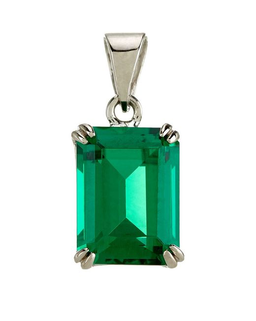 Carat* | Green 1.5ct Solitaire Pendant | Lyst