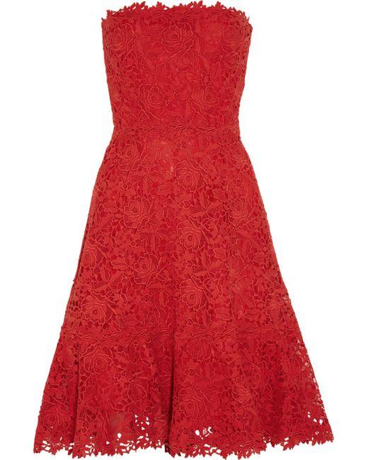 Valentino | Tiered Silk-chiffon Mini Dress | Lyst