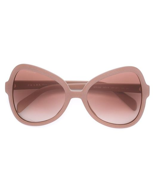 Prada Cat Eye Frame Sunglasses in Pink - Save 27% Lyst