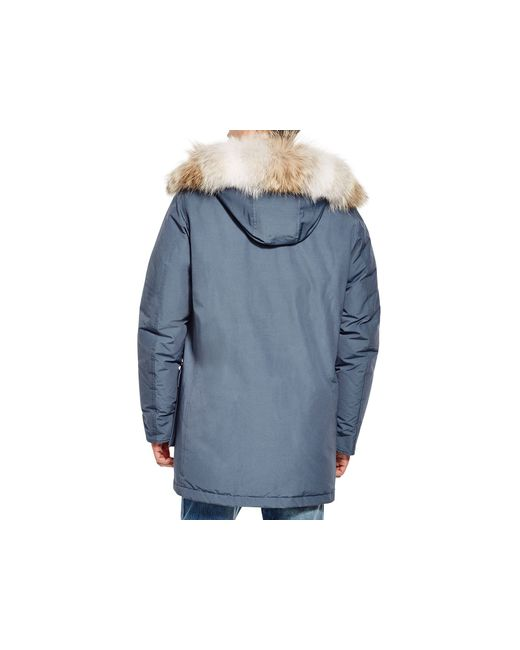 woolrich arctic down parka in blue for men lyst. Black Bedroom Furniture Sets. Home Design Ideas