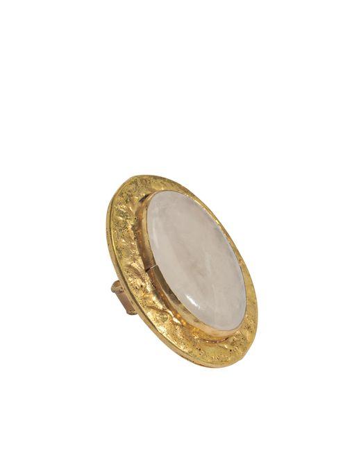 Sylvia Toledano | Black Oval Quartz Ring | Lyst