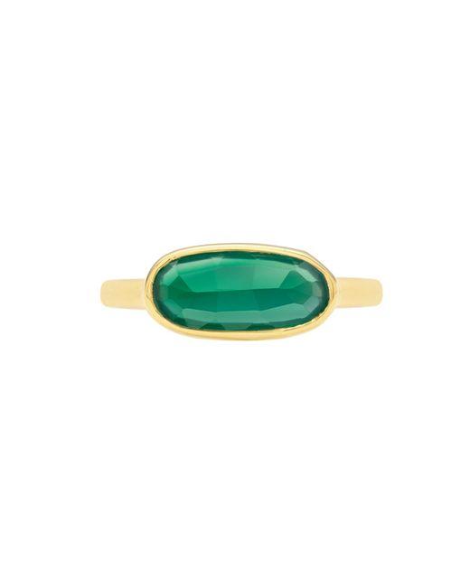 Monica Vinader | Green Vega Ring | Lyst