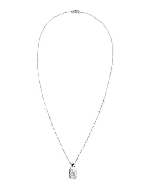 Eddie Borgo | Metallic Pointed Star Silver Plated and Gold Plated Necklace | Lyst