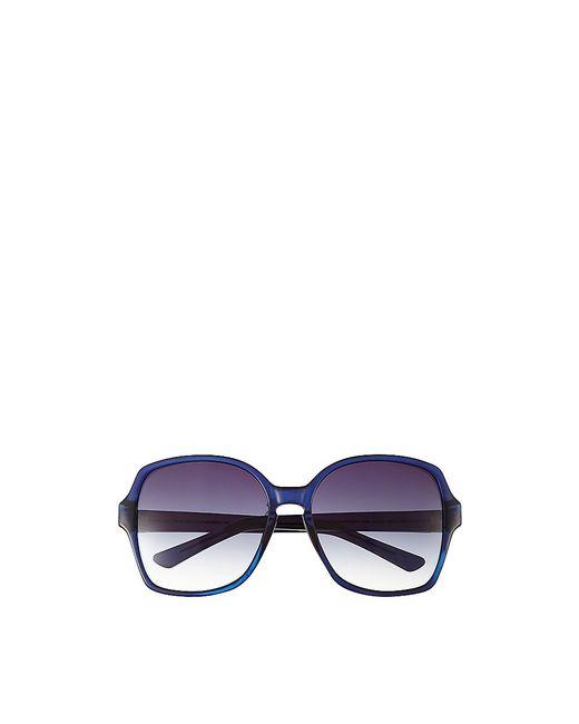 Vince Camuto   Blue Translucent-frame Square Sunglasses   Lyst