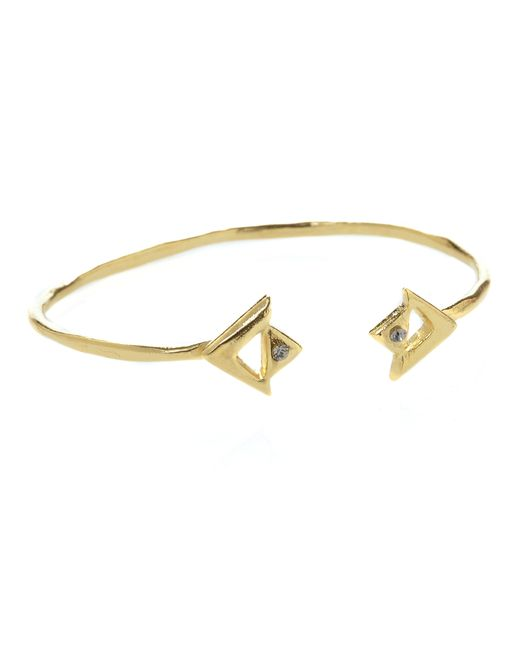 Jill Golden | Metallic Apex Cuff | Lyst