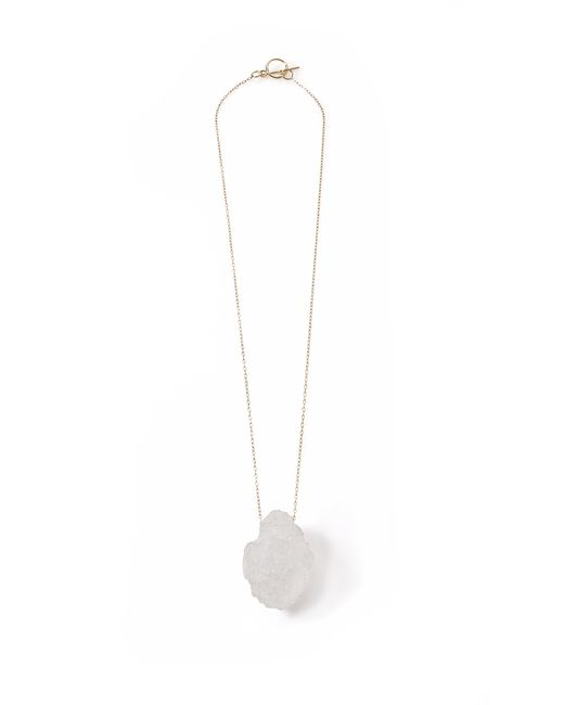 Noritamy | Lolo Icy White Polymer Necklace | Lyst
