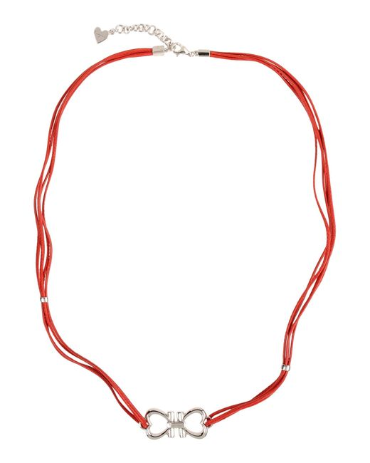 Ferragamo | Red Necklace | Lyst