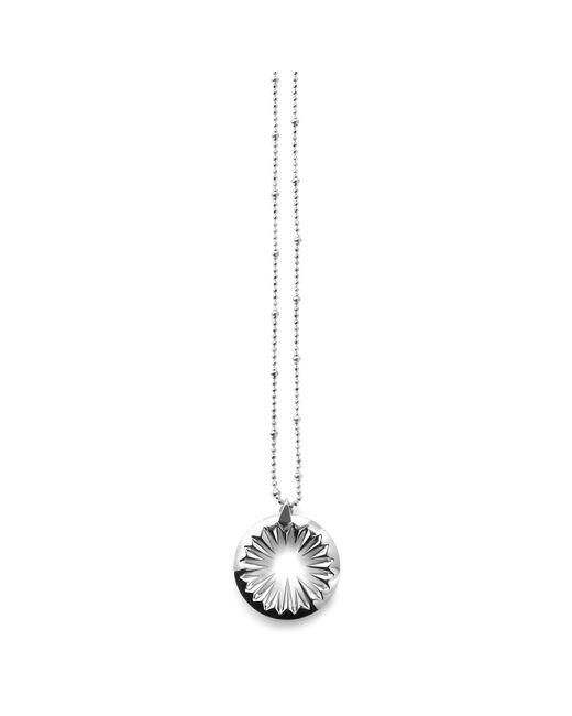 Kasun | Black Midnight Sun Pendant Silver | Lyst