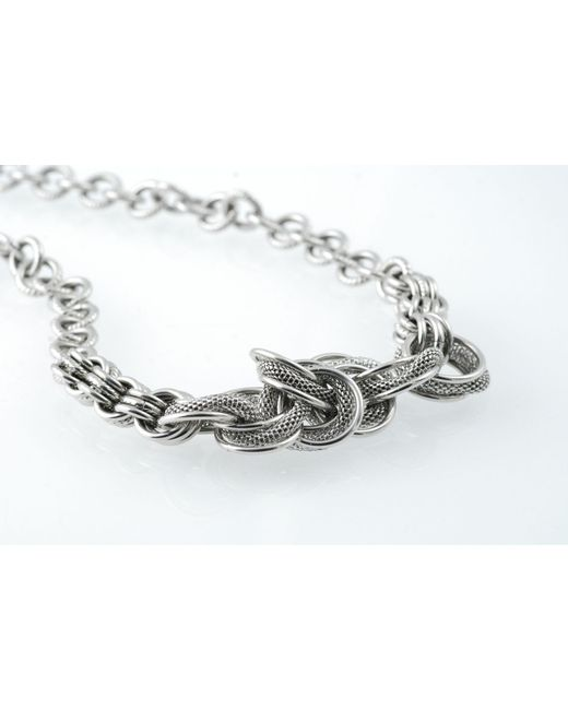 Storm | Metallic Sloane Necklace for Men | Lyst
