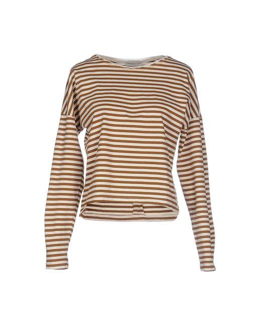 Roberto Collina | Brown T-shirt | Lyst