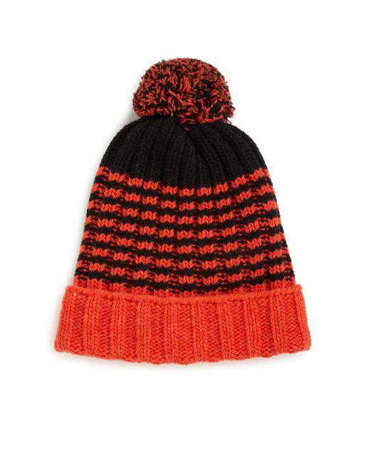 Gucci   Orange Knit Wool Pom-pom Hat for Men   Lyst